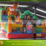 Inflatable frozen jumping castle air blower price for sale