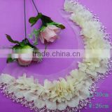 wholesale fashion fancy handmade flower lace collar for garment accessory