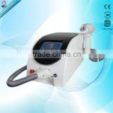 best effective Skin whitening/q switch nd yag laser tattoo removal machine for pigment removal