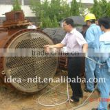In service condenser (titanium tubes) ,heat exchangers, air cooler tubes eddy current testing