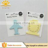 wholesale recycled die cut memo pad sticky note for school and office