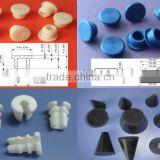 small rubber hole plugs silicone rubber cap silicone rubber waterproof dustproof hole plugs