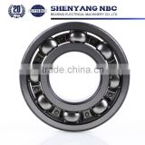 Long Working Life Deep Groove Ball Bearing Size for Shower Door Bearing Wheels