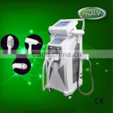 3 Handpieces Ipl Rf E-light Shr Opt Q Switch Nd Yag Laser Hair And Tattoo Removal Laser For Sale