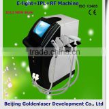 2013 Exporter Beauty Salon Equipment Diode Laser Skin Rejuvenation E-light+IPL+RF Machine 2013 Portable Nail Art Machine Vascular Treatment