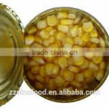 Chinese Excellent Canned Sweet Kerenl Corn Canned Food with Good Quality,Hot Selling and Competitive Price