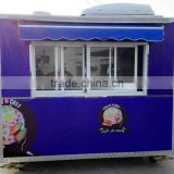 Street Mobile Food Cart mobile food truck/ hot dog Snack car/Ice Cream Truck/ China Factory Mobile Food Truck For Sale