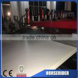 wpc pvc cekula crust desk foaming skirting board plate extrusion line with good quality and low price