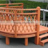 Wooden Garden Decor Gazebo for factory /make design