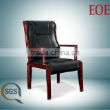 office wood chair vietnam conference chair leather wooden frame meeting room chair