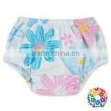 Latest Fashion Flower Fresh Style Beach Shorts Fashion Girl Boutique Underwear Boys Stylish Underwear