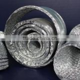 Non-insulated double-layer exhaust aluminium foil flexible pipe