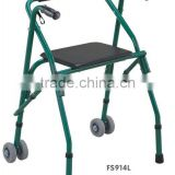 TWA914L Aluminum Drum Brake Disability or Aged People Walking Frame Rollators Walking Aids Mobility Aids