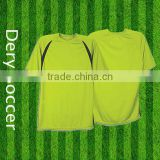 Dery high quality soccer referee jersey with good price