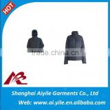 Black Man and Women Technical Jackets With or Without Hat