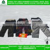 Made In China Original Door To Door Bales High End Men Suit Pants used clothing uk style