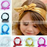 2017 wholesale Children rabbit ear headband ,headbands accessories for baby girl