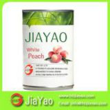 2014 new canned food Hard white peach syrup