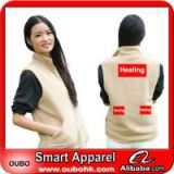 Lady vest,stock vest,padded vest With Heating System Battery Heated Clothing Warm OUBOHK