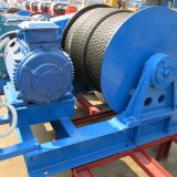 High efficiency electric winch control