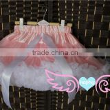 Adorable teen Girl Fluffy Tulle Pettiskirt Dance Party Skirt Baby Tutu Skirt New Baby Kids Girls Dancewear Cute Chiffon Tutu