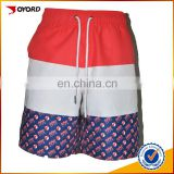 new design peach skin board shorts American flag board shorts