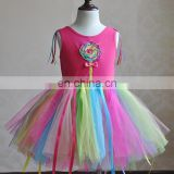Candy Lollipop Baby Tutu Dress Pageant Party Tulle Frock Invitations Sweet Shop Outfit