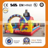 Inflatable Batman fun city/giant inflatable city/inflatable playground