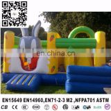 Commercial grade rabbit inflatable mini jumper, kids inflatable jumping inflatable, bouncers for kids