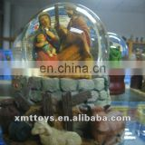 custom glass ball nativity sets decoration