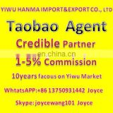 YIWU market buying agent taobao agent sea shipping
