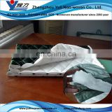 Soft polyeser textile wadding with sewing fabric
