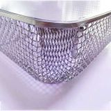 Punching SS Wire Mesh Basket