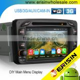 "Erisin ES2507B 7"" Android 4.4.4 2 Din Car Muiltmedia with GPS WiFi Bluetooth for Mercedes W168"