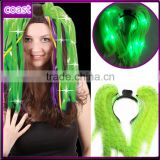 Diva dreads noodle hair accessory led flashing light up headband