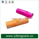 High quality Brown paper craft tube paper tube box,Paper cardboard tubes,paper craft tube cap