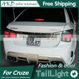 AKD Car Styling Tall Lamp for Cruze DRL New Cruze LED DRL 2016 Cruze LED Tail Light Good Quality LED Fog lamp