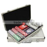 500pcs chips and cards inlay casino poker chip set with tool set for game                                                                         Quality Choice