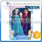 Mini Qute wholesale 3 in 1 movable joints Plastic cartoon Frozen doll frozen princess anna & elsa olaf girls children toys