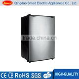 A+ R600a 90L solid door Small refrigerator hotel mini bar fridge with lock