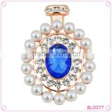 European and America perfume bottle Brooch ladies Pearl Brooch High-end Fashion Brooch
