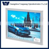 YGY-22 Factory supply Snap frame edge-lit aluminum light box display, acrylic photo frame