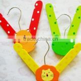 High Quality Lovely Animal Wooden Hanger Whole Sale Hangers/Folding Hanger