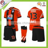 Alibaba Trade Assurance striped breathable soccer jerseys, soccer jersey kids set                                                                         Quality Choice