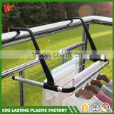 New Foldable Aluminum plastic folding clothes drying rack