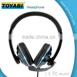 Gaming Headphones PC Headphone LED Super Bass ANC Headsets Headphone w/ Micro and controller button
