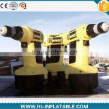 2015 Hot sale Giant Advertising inflatable electric drill,inflatable replicas model,inflatable tools for promotion
