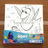 Popluar Nemo canvas painting set for kids