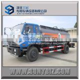 heavy duty chemical liquid storage tank , Diluted hydrochloric acid transportation trucks on hot sale