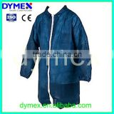 Cheap Disposable Blue Medical Lab Coat